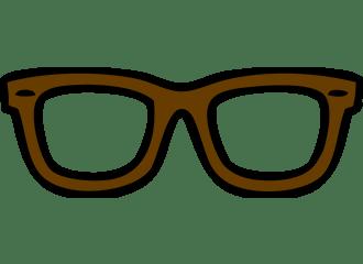 Bruine Brillen