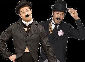 Charlie Chaplin Kostuum