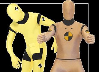 Crash Test Dummies Kostuums
