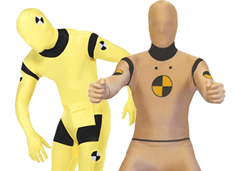 Crash Test Dummies Kostuums