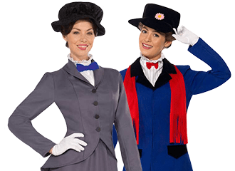 Mary Poppins Kostuums