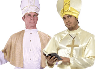 Paus Kostuums