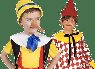 Pinokkio Kostuums