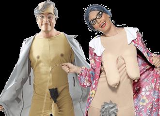 Potloodventer Kostuums