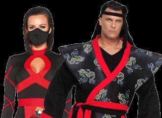 Samurai Kostuums