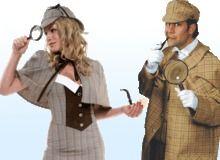 Sherlock Holmes Kleding