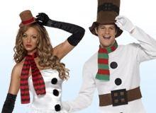 Sneeuwman Kostuum