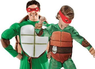 Teenage Mutant Ninja Turtles Kostuums
