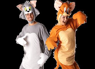 Tom & Jerry Kostuums