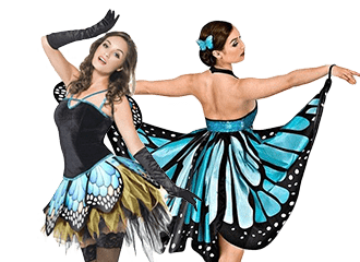 Vlinder Kostuums