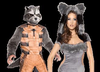 Wasbeer Kostuums