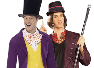 Willy Wonka Kostuum