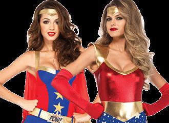 Wonderwoman Kostuums