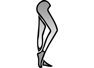 Zilveren Leggings
