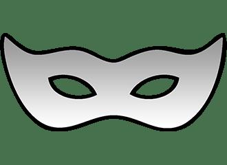 Zilveren Oogmaskers