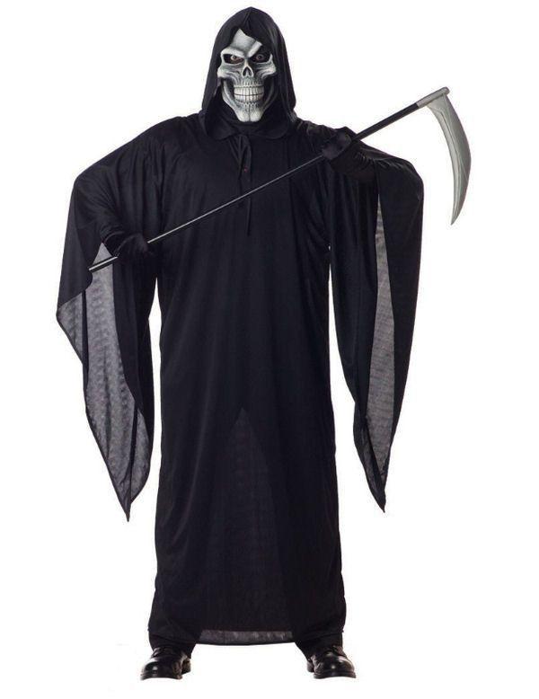 Magere Hein Halloween Man Kostuum