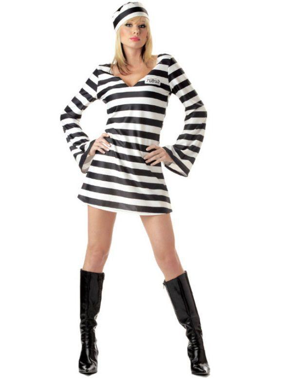 Gevangene Vrouw Kostuum