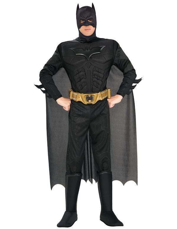 Luxe Duistere Ridder Batman Superheld Man Kostuum