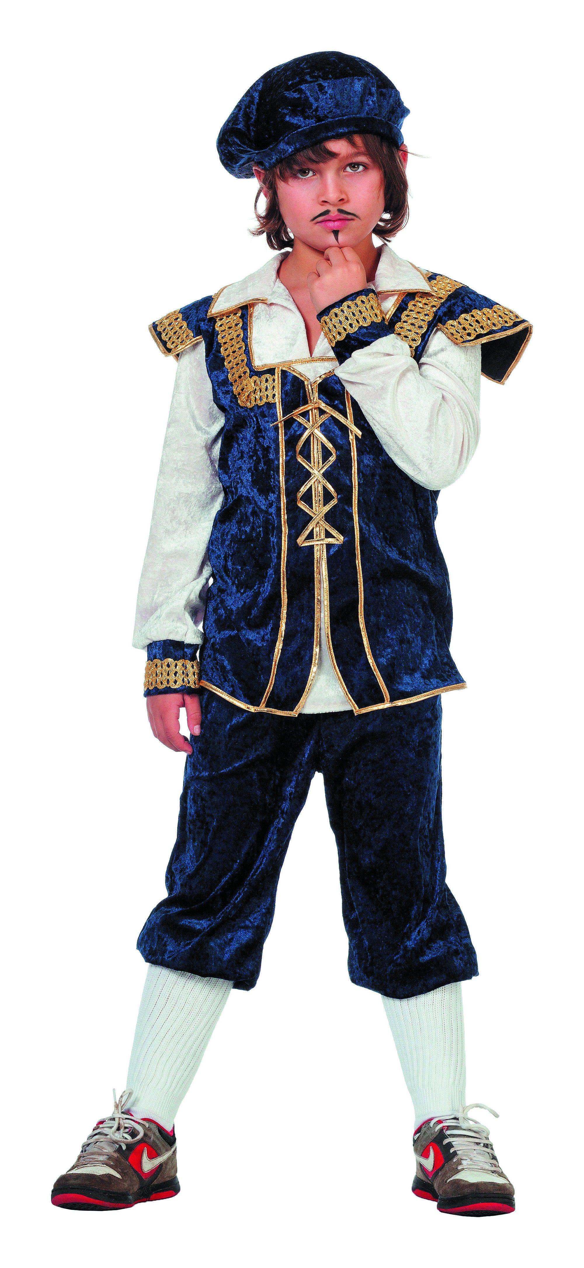 Middeleeuwse Burchtjongen Kostuum