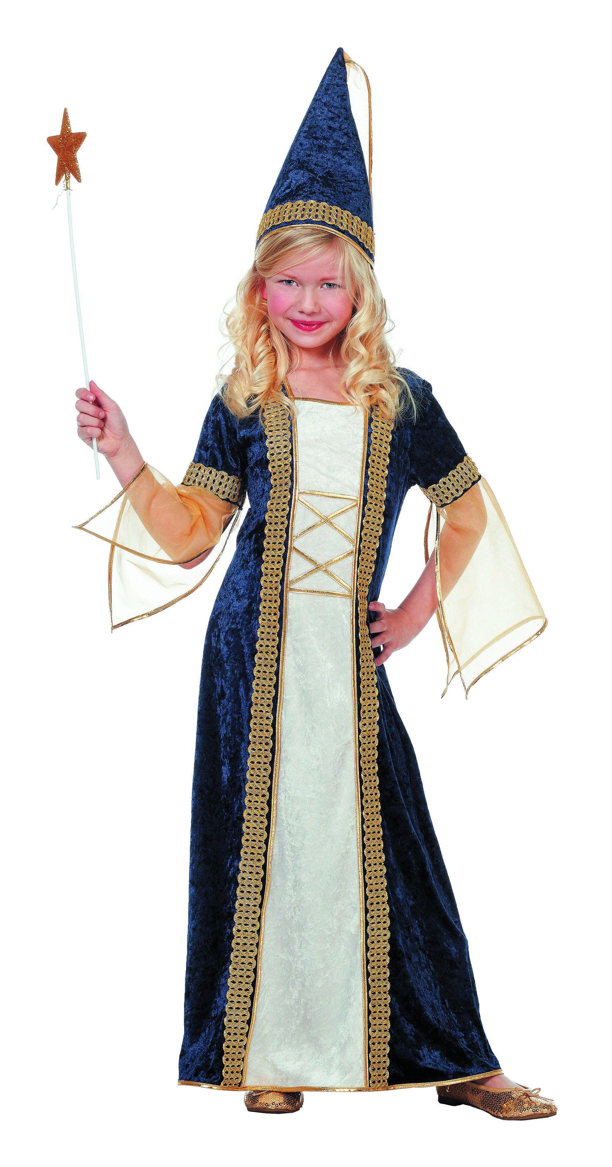 Middeleeuwse Burchtdame (Meisje) Kostuum