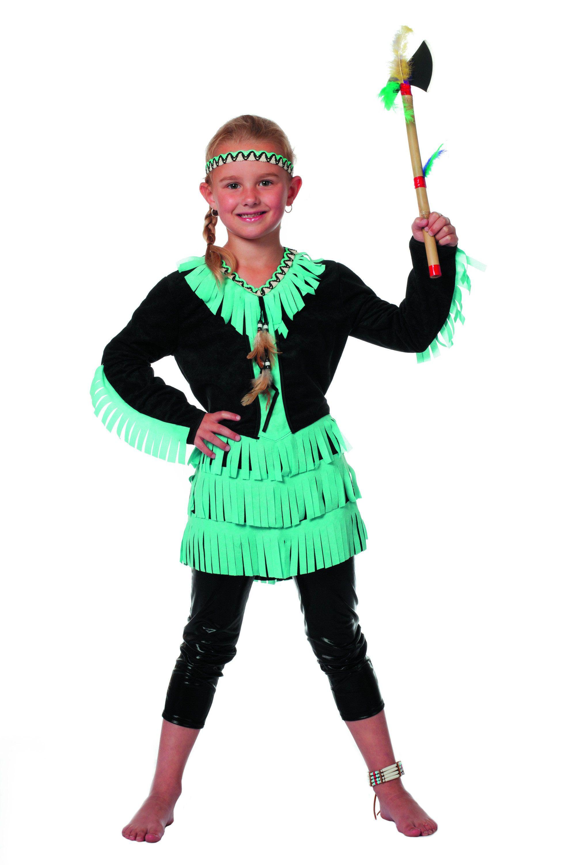Indianenmeisje Wishbone Klukluuk Kostuum