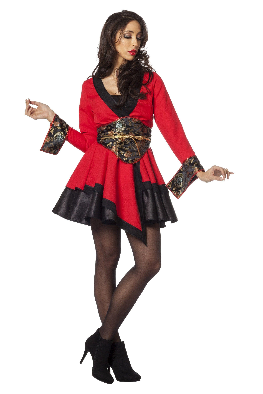 China Girl Miss Pingping Vrouw Kostuum