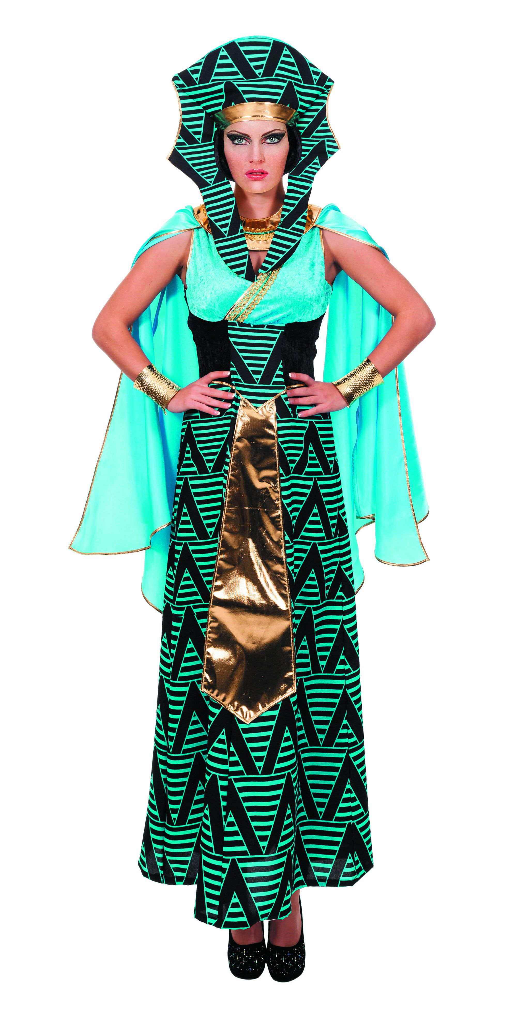 Egyptische Aida ( Zonder Hoed) Gizeh Vrouw Kostuum