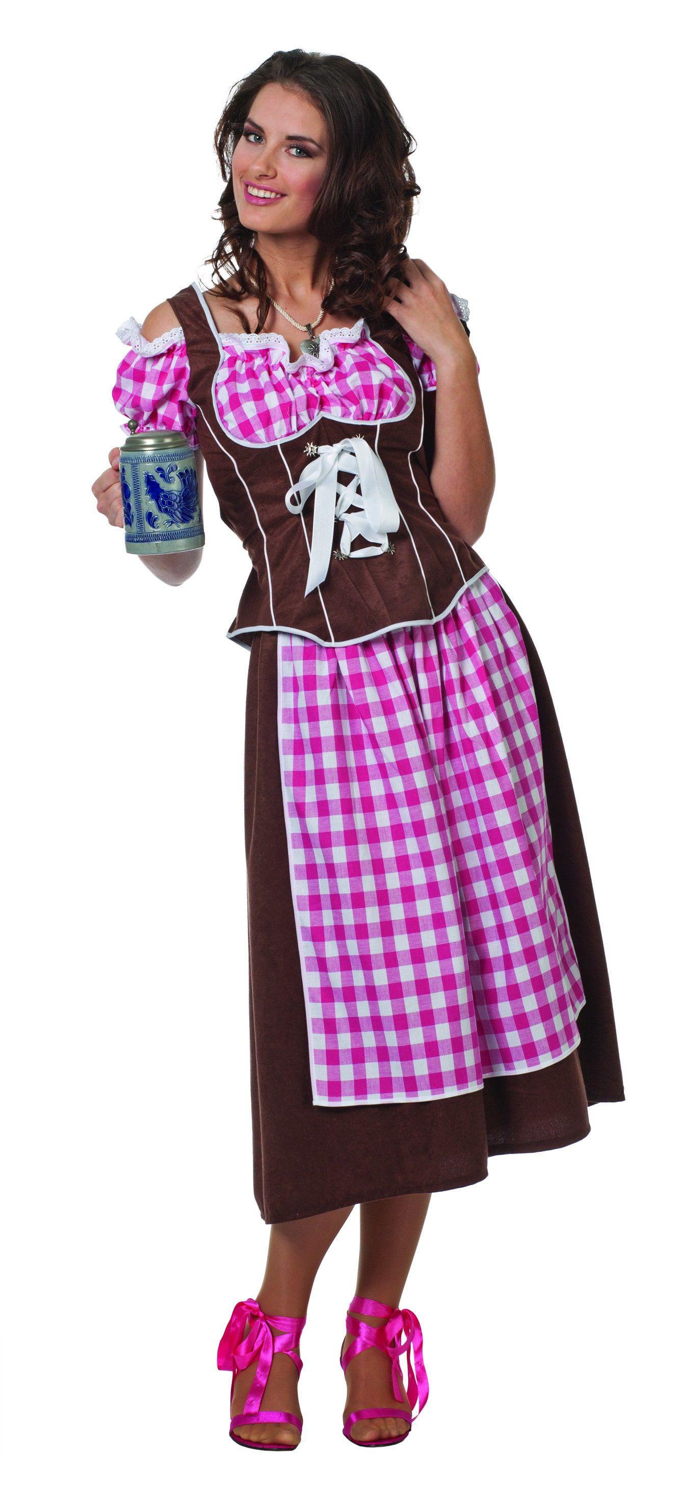 Stube Dirndl Suedine Vrouw Kostuum