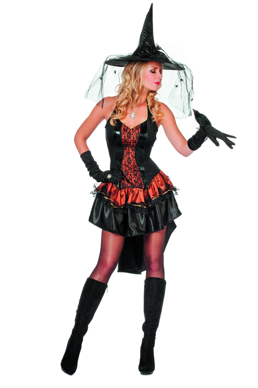 Kordate Pirate / Heks, Koper Vrouw Kostuum