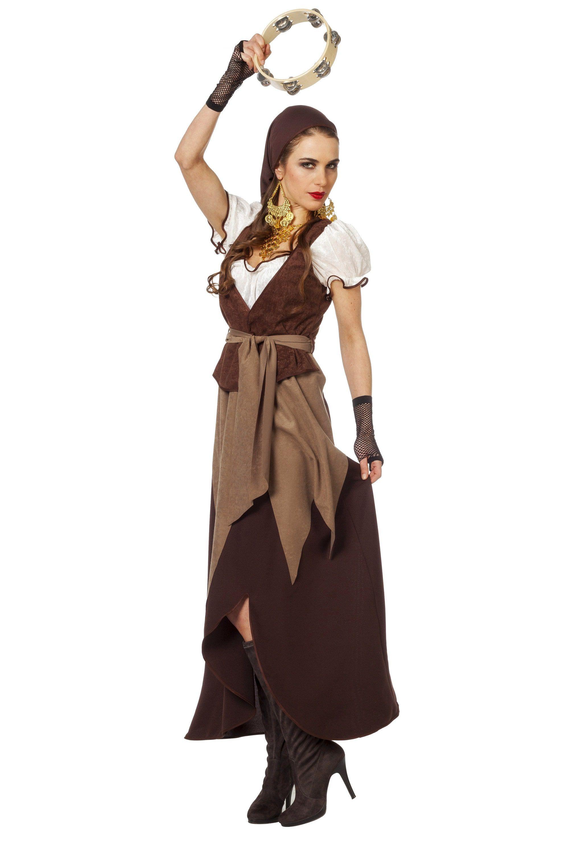 Arme Gypsy / Piratin Vrouw Kostuum