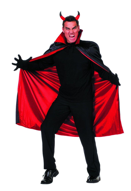 Zwart Rode Draculacape Luxe