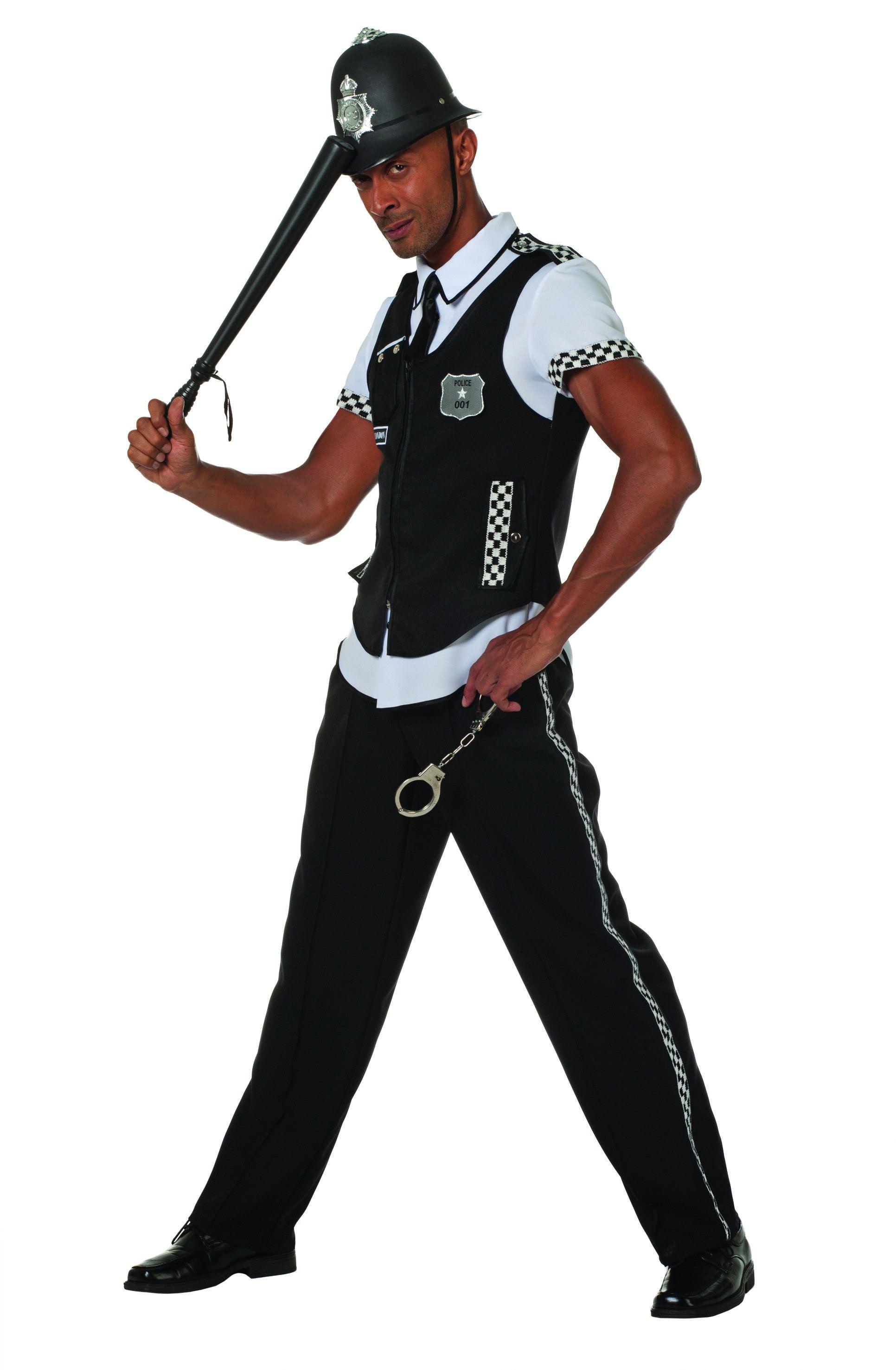 Britse Politie Bobby ( Met Broek) Man Kostuum