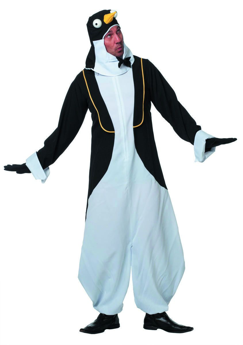 Kekke Pingu Pinguin Man Kostuum