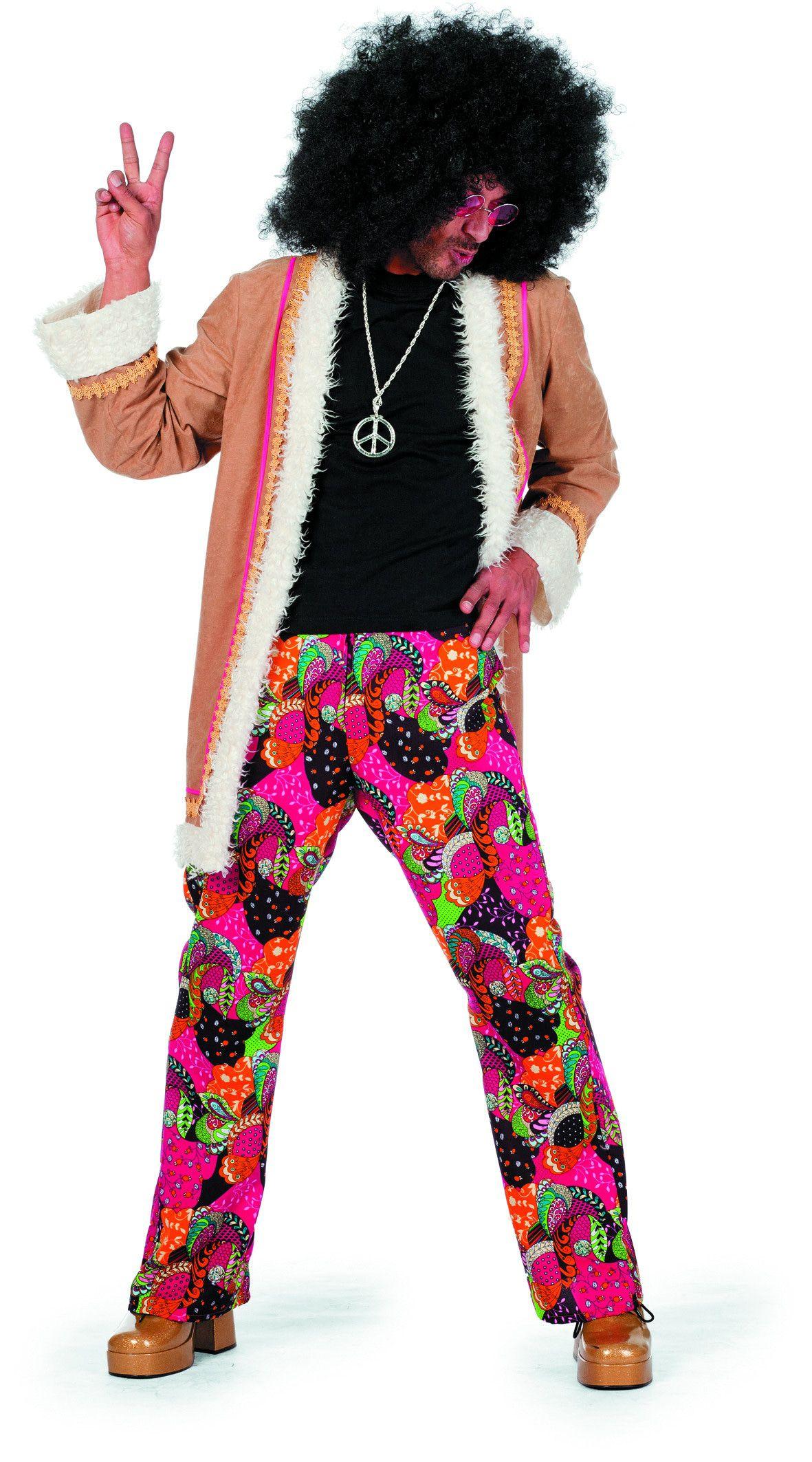 Hippie Lang Spliffy Man Kostuum