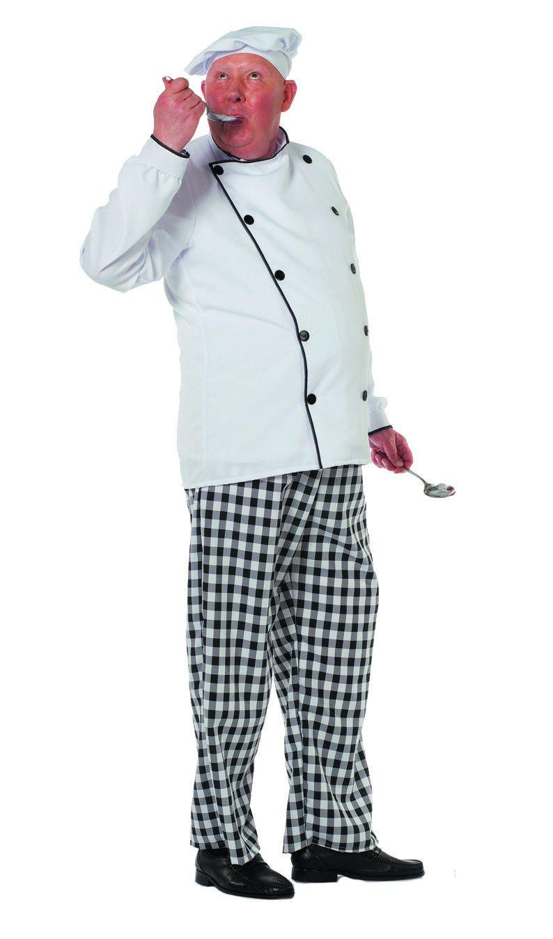 Zweedse Kok Man Kostuum