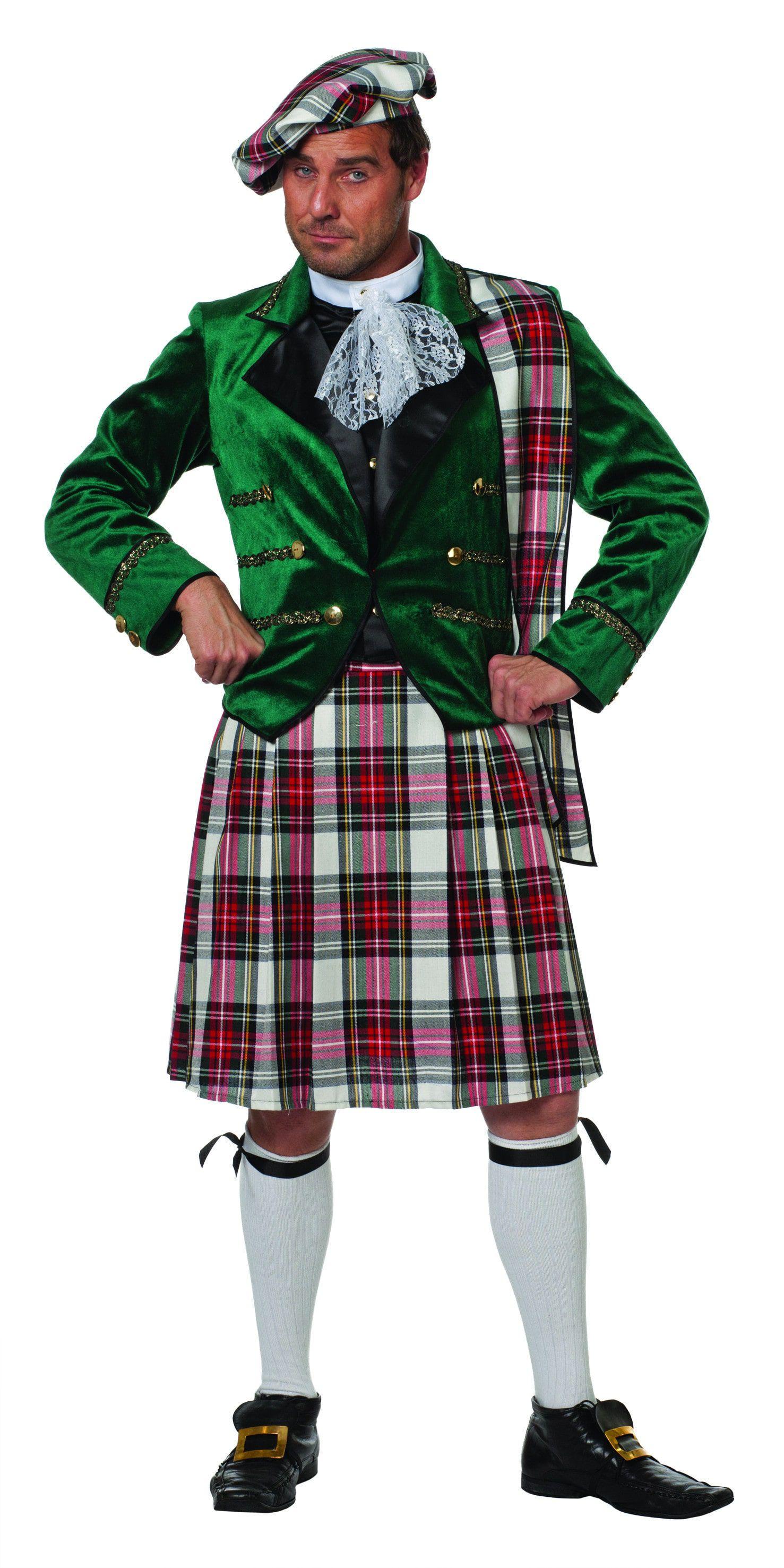 Edinburgh Schot Angus Man Kostuum