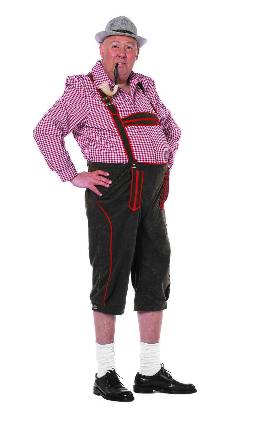 Hansel De Tansel Hansielein Man Kostuum