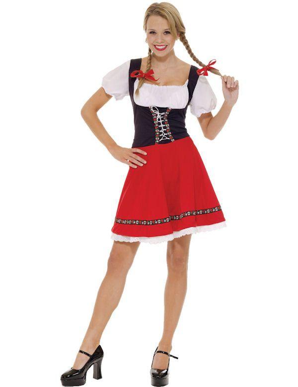 Heidi De Verleidster Vrouw Kostuum