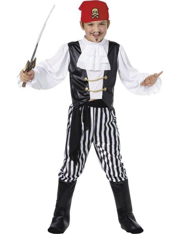 Klassieke Piraat Jongen Kostuum