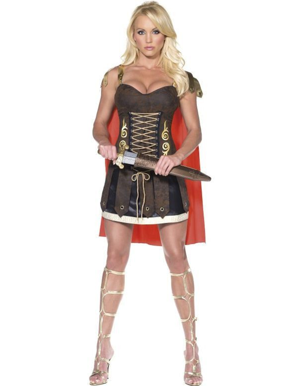 Fever Gladiator Vrouw Kostuum