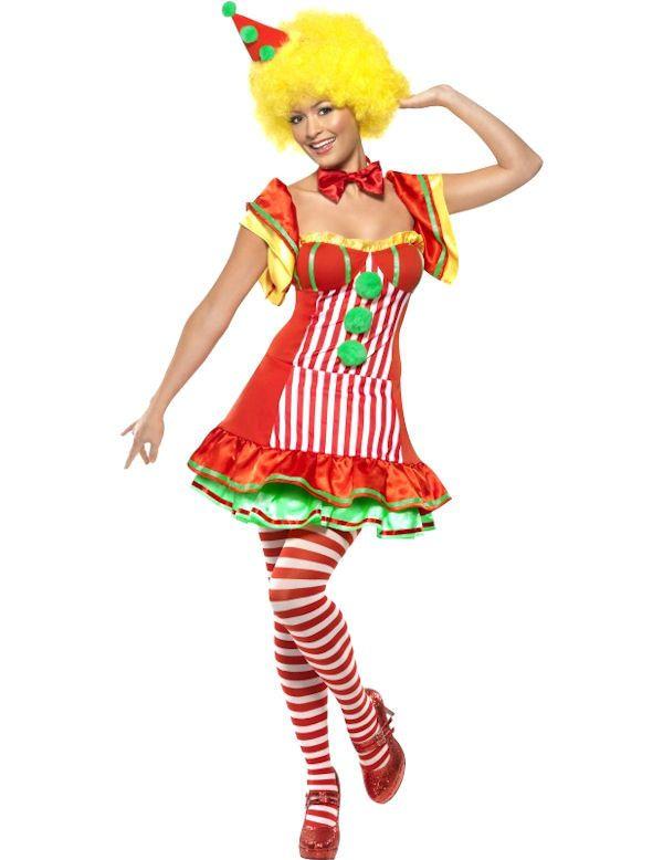 Boo Boo De Clown Vrouw Kostuum