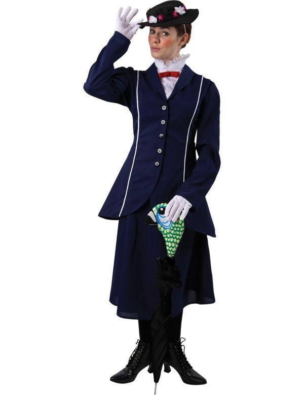 Magische Nanny Vrouw Kostuum