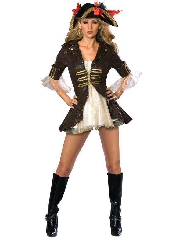 Vrouw Piraat Vrouw Kostuum