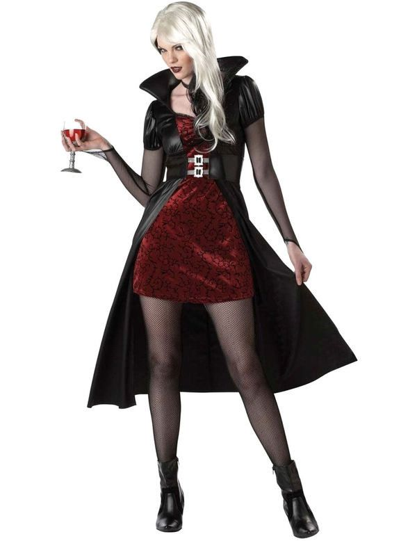 Stijlvolle Sexy Vampier Vrouw Kostuum