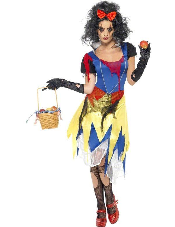 Halloween Sneeuwwitje Vrouw Kostuum