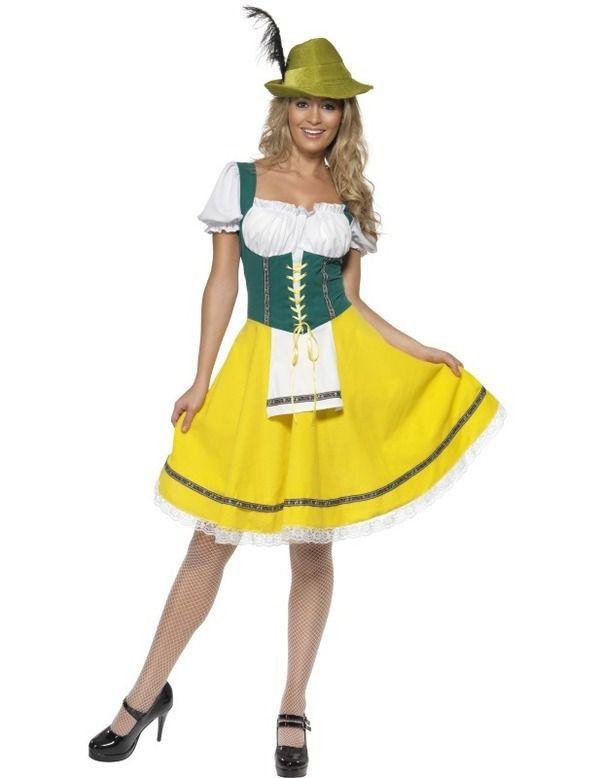 Vrouwen Oktoberfest Vrouw Kostuum
