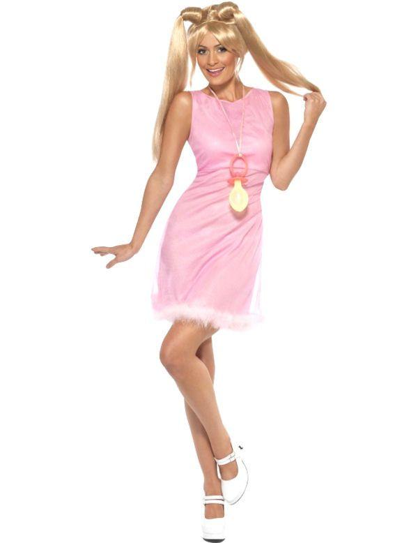 Spice Girls Baby Spice Vrouw Kostuum