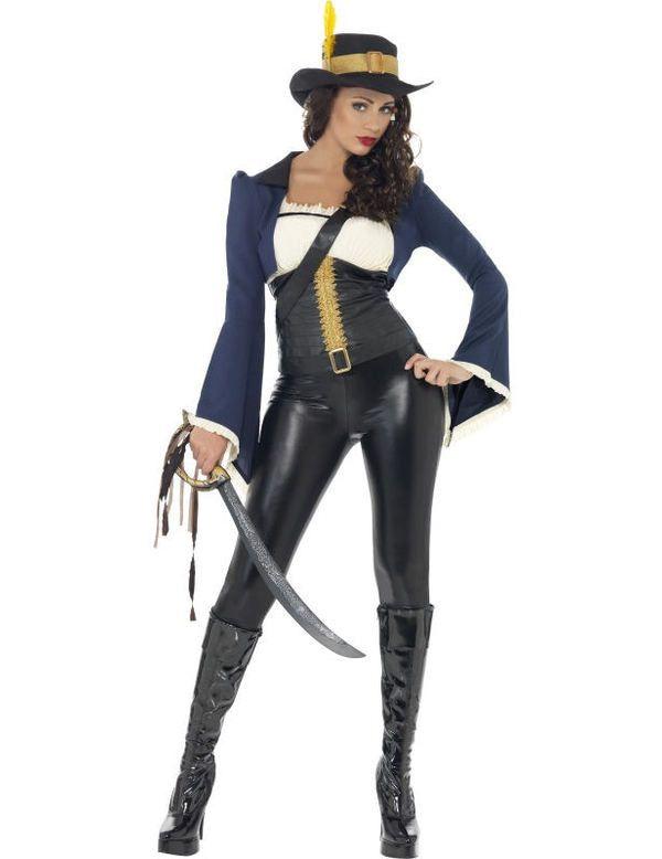 Penelope Piraten Vrouw Kostuum