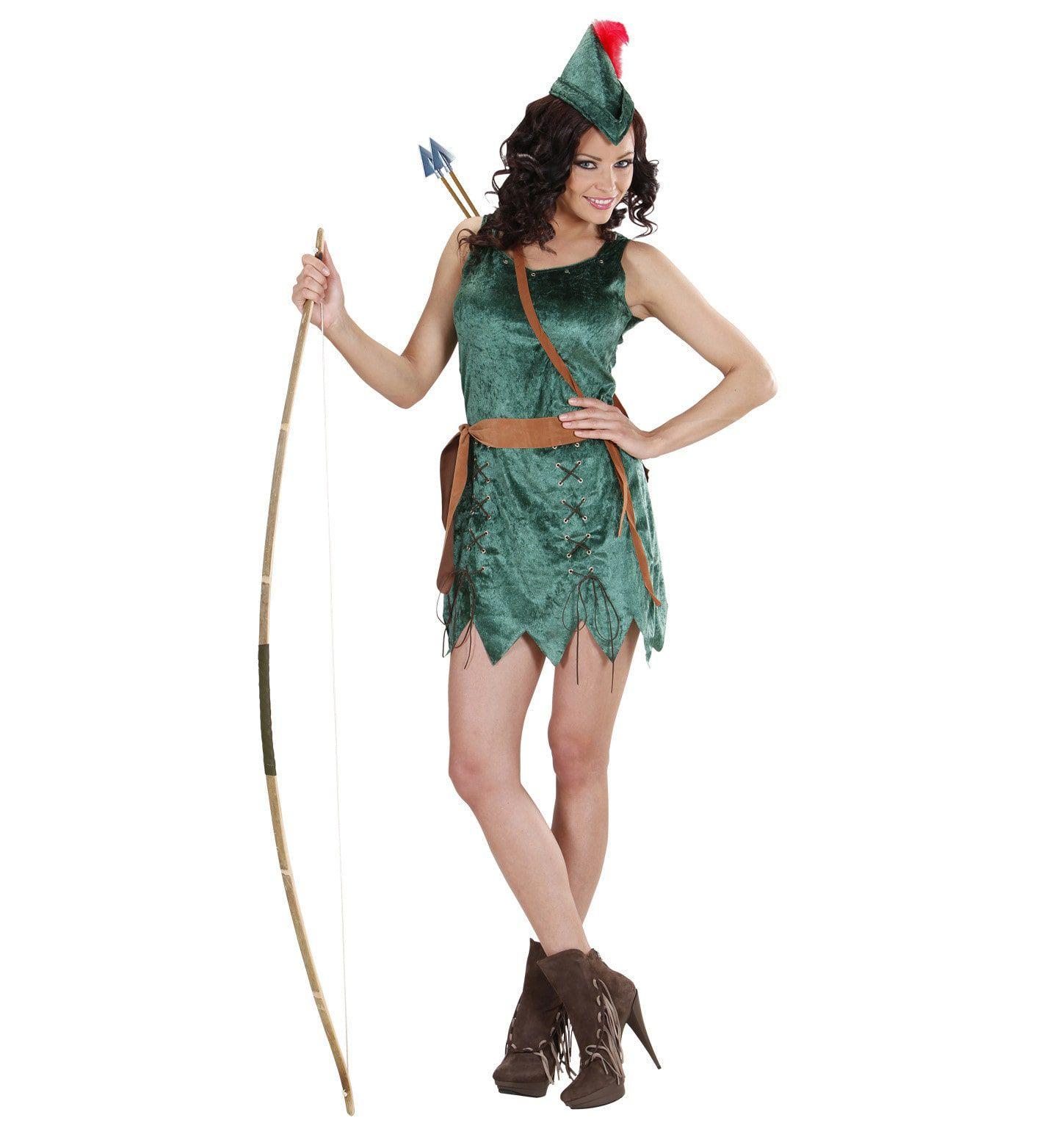 Robin Hood Meisje Vrouw Kostuum