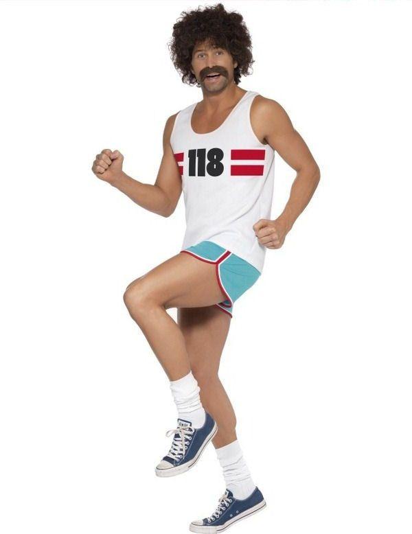 118 Hardloper Mannen Man Kostuum